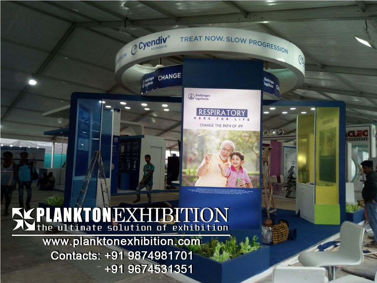 Exhibition Stall 3d Design in kolkata