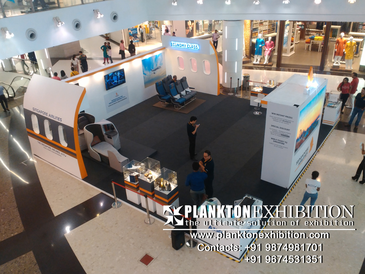 Exhibition Stall Design in kolkata
